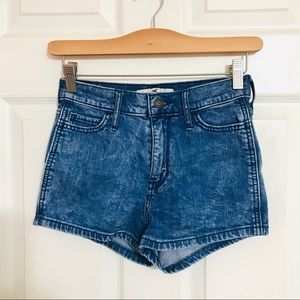 Hollister Stretch High-Rise Shorts